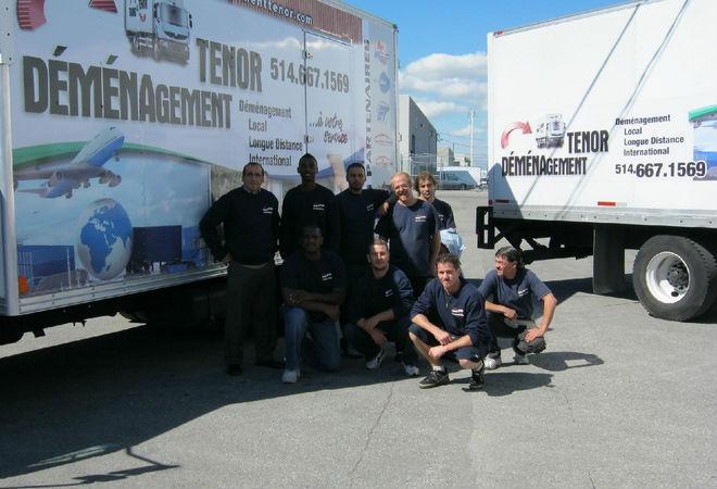 équipe déménagement tenor - MOVING EXPERTS IN MONTREAL